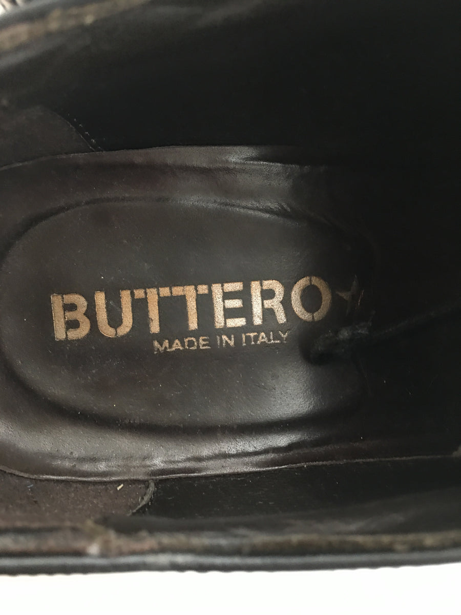 BUTTERO/Shoes/43/BLK/Leather