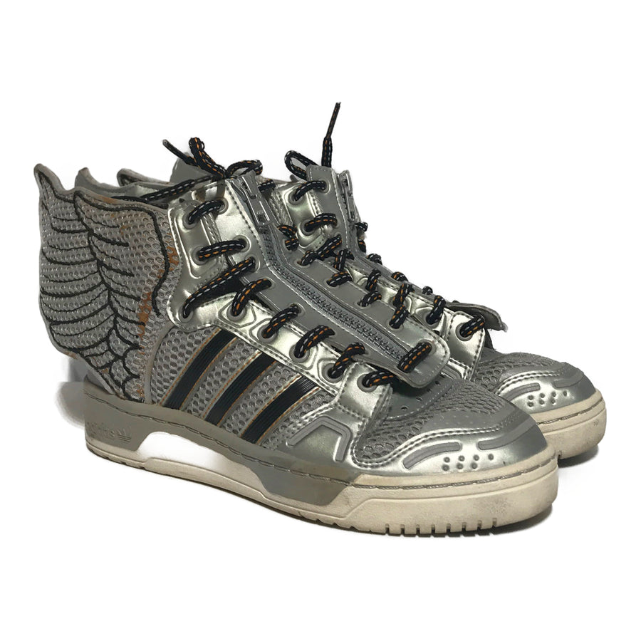 JEREMY SCOTT/MESH/Hi-Sneakers/5/SLV/Others/Border