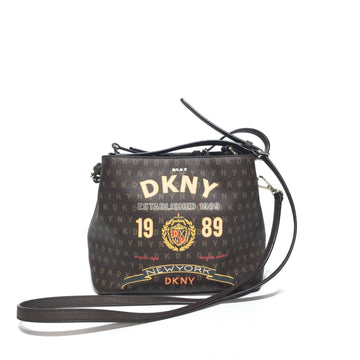 DKNY(DONNA KARAN NEW YORK)//Cross Body Bag/BRW/Others/Plain