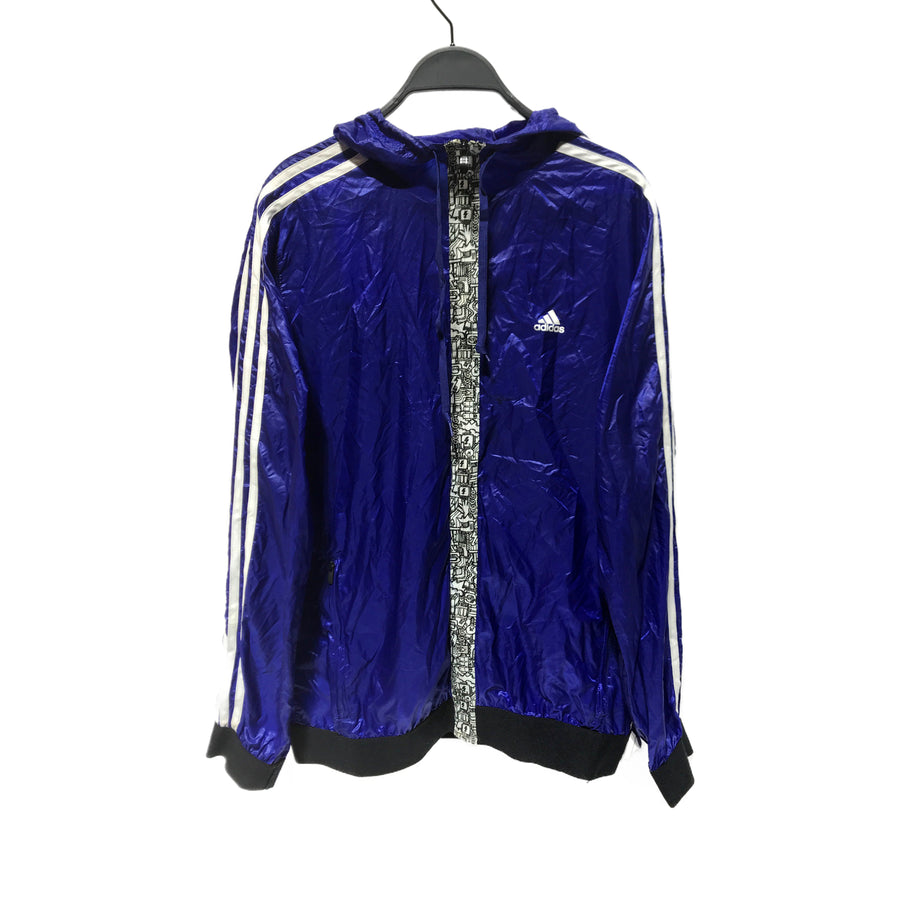 Adidas//Windbreaker/L/PPL/Nylon/Graphic