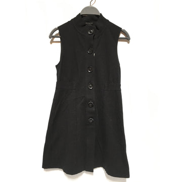 theory/2/SL Dress/BLK/Others/Plain