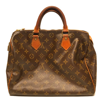 LOUIS VUITTON/BOSTON/Boston Bag//BRW/Leather/Monogram