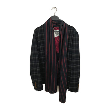 vivienne westwood MAN/Jacket/44/Polyester/NVY/Plaid