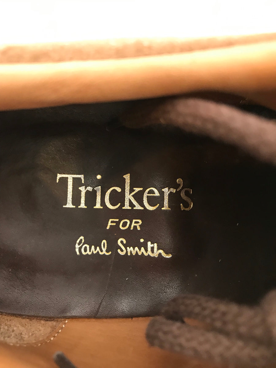Tricker's/Low Top Sneakers/BRW/Suede