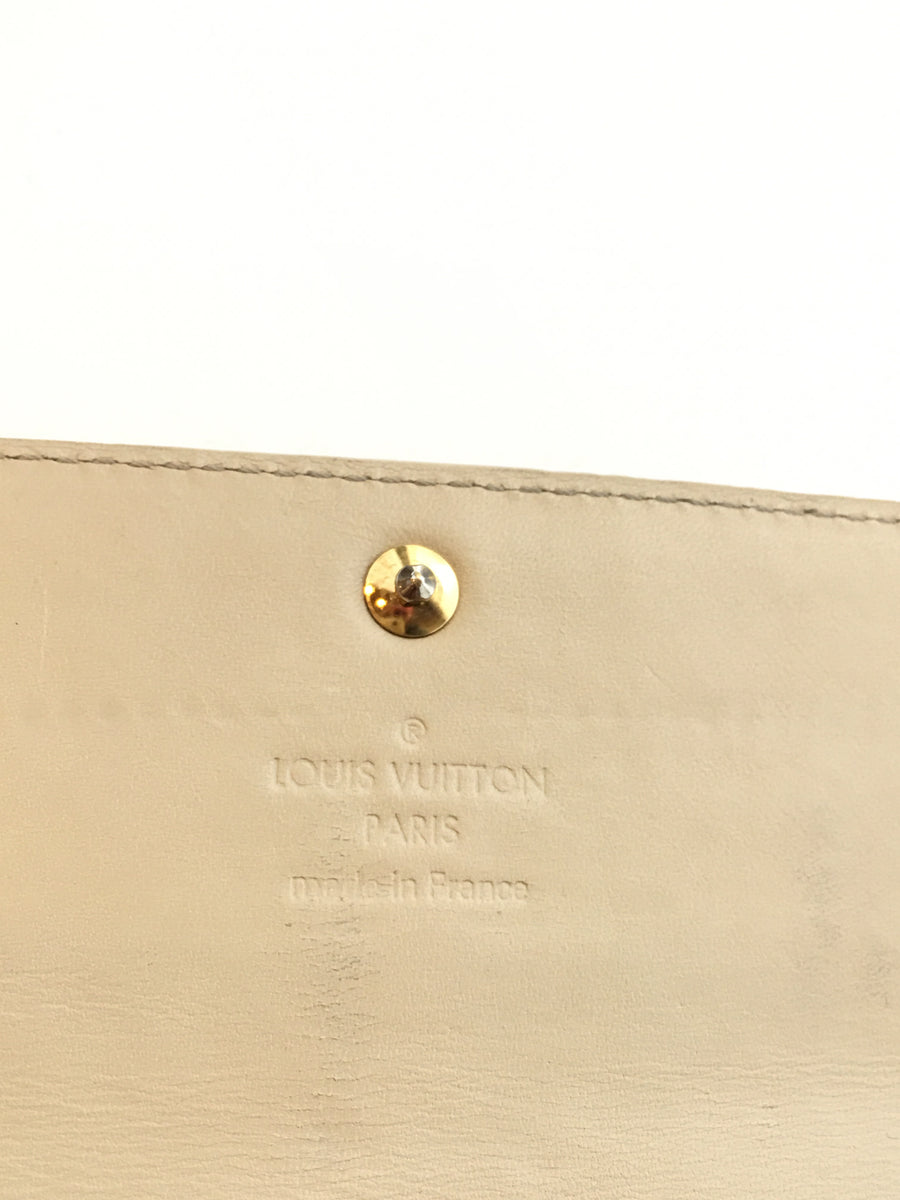 LOUIS VUITTON/VERNIS/Long Wallet/BEG/Others/Monogram