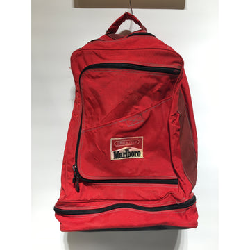 Vintage//Backpack/RED/Cotton/Graphic