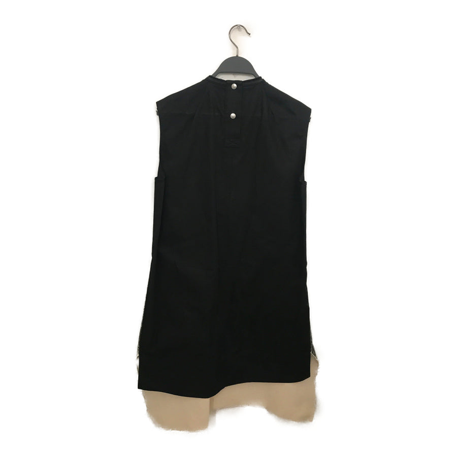 Rick Owens//Camisole Dress/XS/BLK/Others/Plain