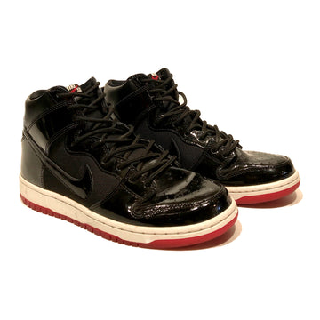 Jordan/NIKE SB DUNK HIGH BRED/Hi-Sneakers/US9/BLK/Others/Plain