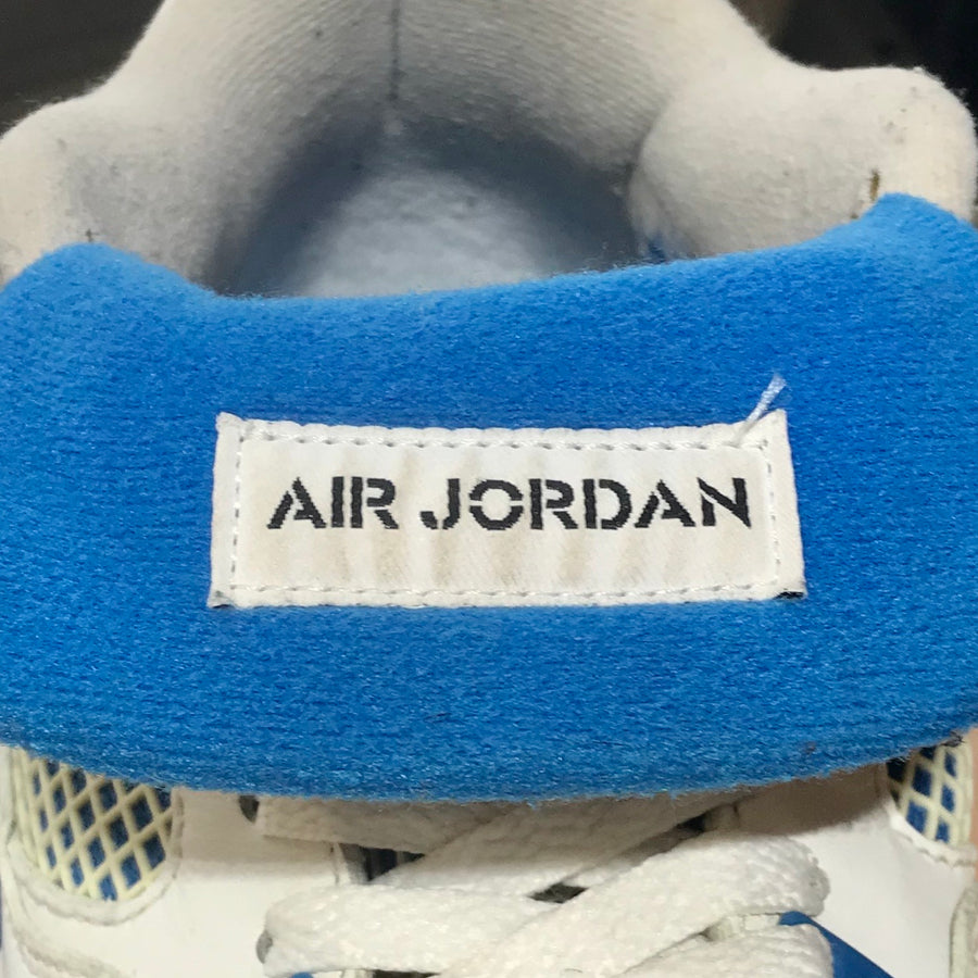 NIKE/JORDAN 4 RETRO MILITARY BLUE (2012)/Hi-Sneakers/10.5/BLU/Leather/Plain