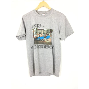 Supreme/M/T-Shirt/GRY/Cotton/Graphic
