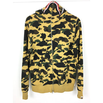 A BATHING APE/L/Zip Up Hoodie/MLT/Cotton/Camouflage