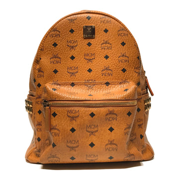 MCM//Backpack//CML/Leather/Monogram