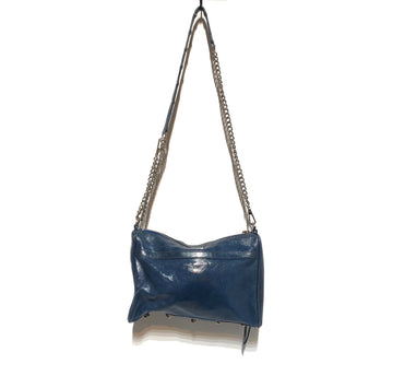 REBECCA MINKOFF/SHOULDER BAG/Bag/./BLU/Leather/Plain