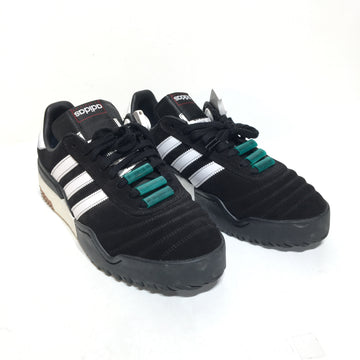 Adidas/US10.5/Low-Sneakers/BLK/Others/Plain