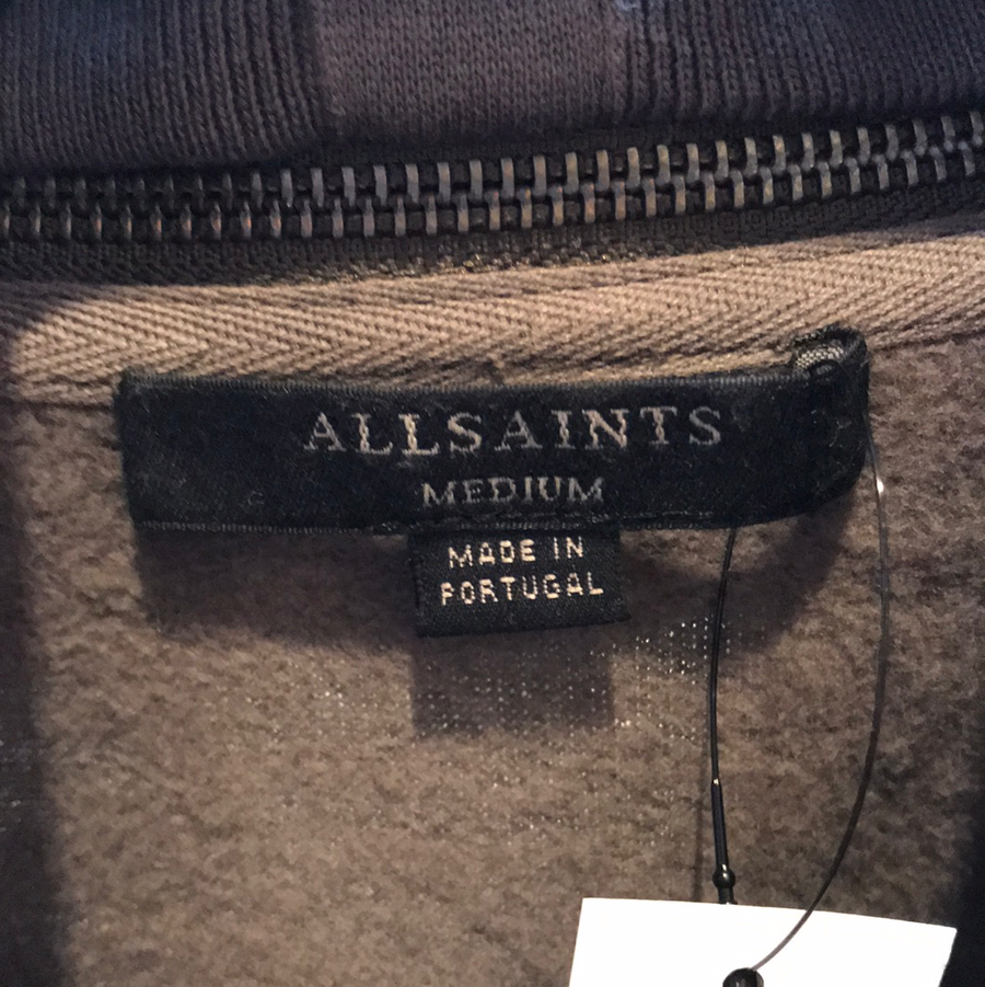 ALLSAINTS//Sweater/M/GRY/Cotton/Plain