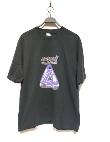 PALACE/EVIL EYE/T-Shirt/./BLK/Cotton/Graphic