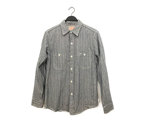 SUGAR CANE/LS Shirt/L/Cotton