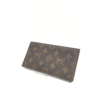 LOUIS VUITTON//Pass Case/BRW/Others/Monogram