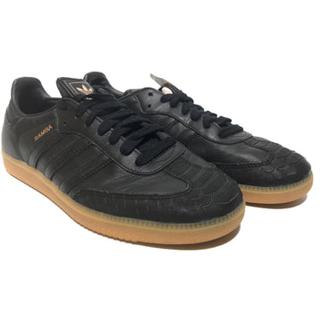 Adidas/SAMBA/Low-Sneakers/US9.5/BLK/Leather/Plain