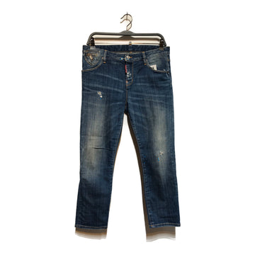 DSQUARED2//Bottoms/40/IDG/Denim/Plain