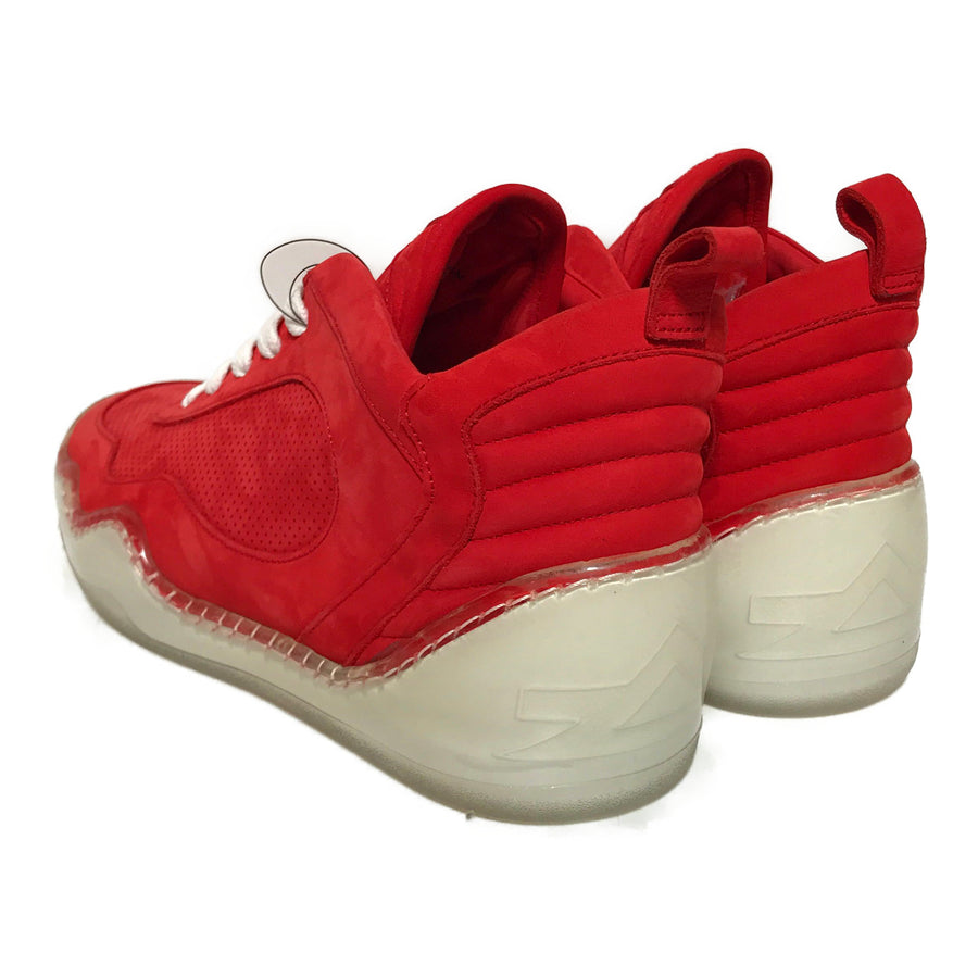 MCCVIII/Hi-Sneakers/US9/RED/Suede/Plain