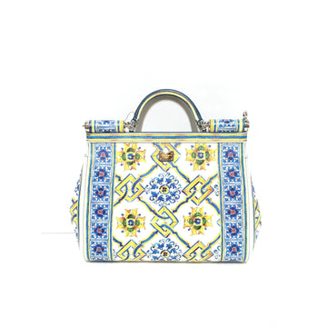 DOLCE&GABBANA//Hand Bag/MLT/Leather/All Over Print