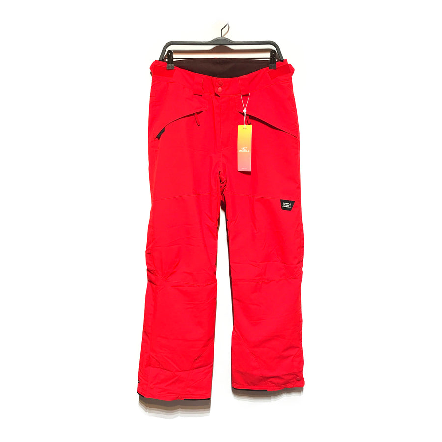 ONEILL/INSULATED PANT/Cargo Pants/M/RED/Nylon/Plain