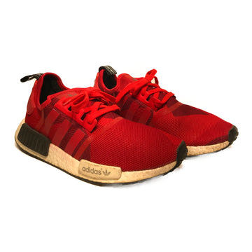 Adidas/NMD R1 GEOMETRIC RED/Low-Sneakers/US11/RED/Cotton/Plain