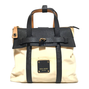 Henri Bendel//Bag/-/WHT/Nylon/Plain