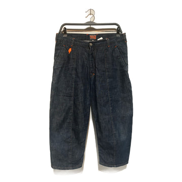 Walter Van Beirendonck/W.&L.T./Straight Pants/31/BLU/Denim/Plain