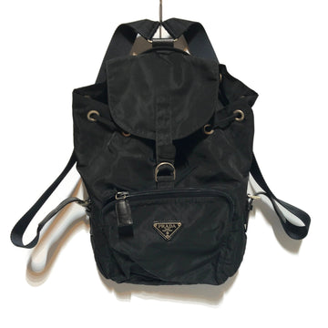 PRADA/BACKPACK/Bag/./BLK/Nylon/Plain