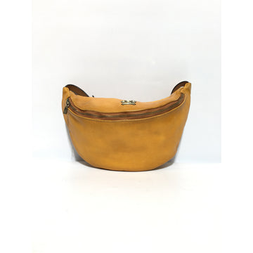 Vintage/PRATESI/FIRENZE/Fanny Pack/BRW/Leather/Plain