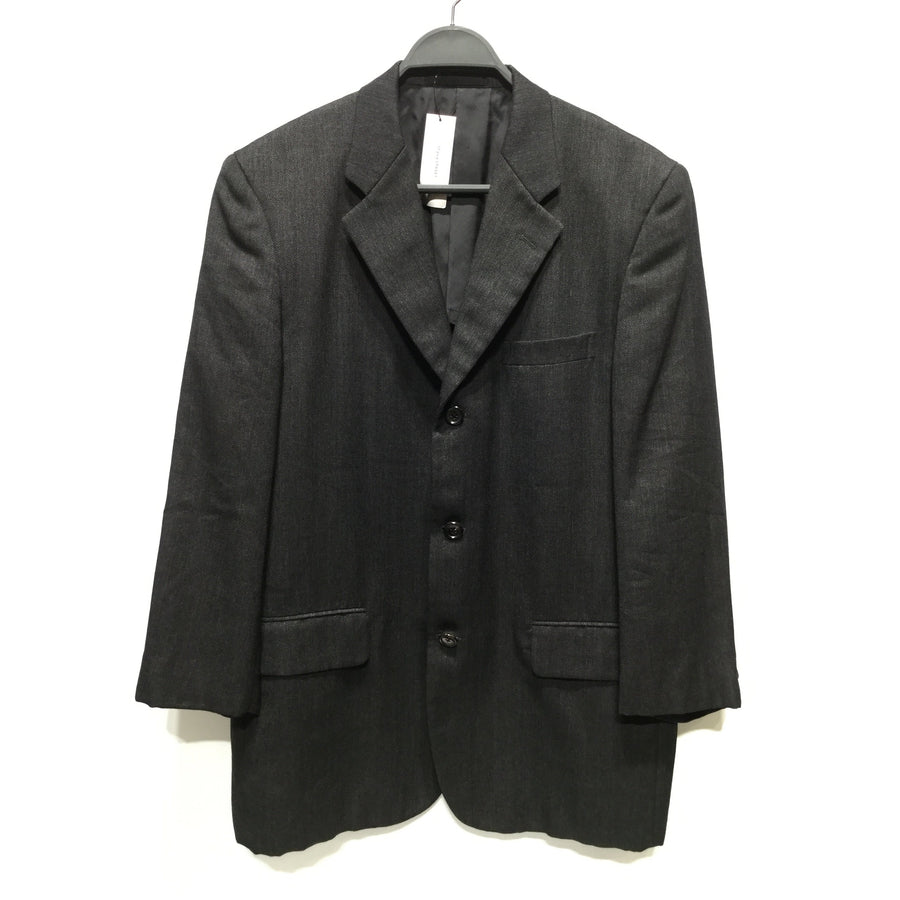 COMME des GARCONS HOMME/Tailored Jacket/M/Wool/BLK