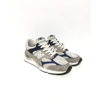 NEW BALANCE/11/Low-Sneakers/GRY/Others/Plain