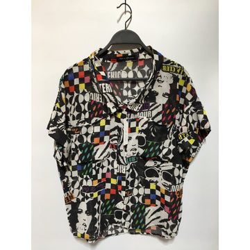 HYSTERIC GLAMOUR/./Shirt/MLT/Others/All Over Print