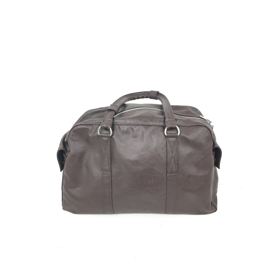 PORTER//Boston Bag/BRW/Leather/Plain
