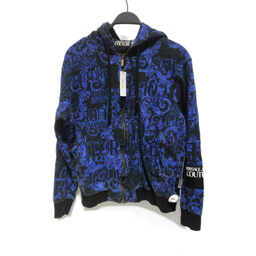 VERSACE JEANS COUTURE//Jacket/M/BLU/Cotton/Plain