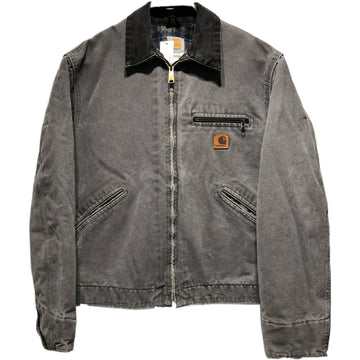Carhartt//Jacket/-/GRY/Cotton/Plain