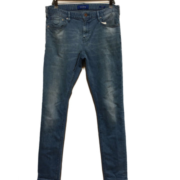 SCOTCH&SODA//Pants/33/BLU/Denim/Plain