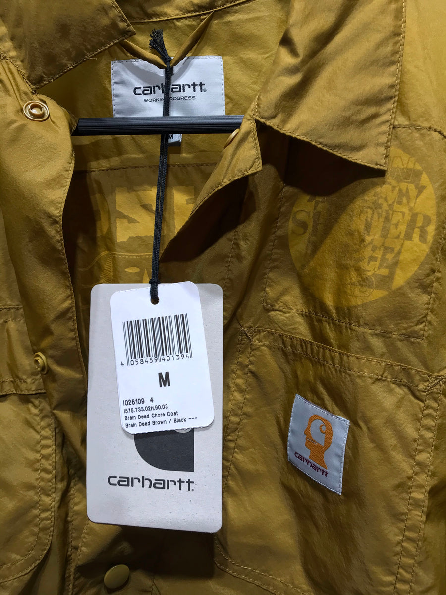 Carhartt//Windbreaker/M/GRN/Nylon/Graphic