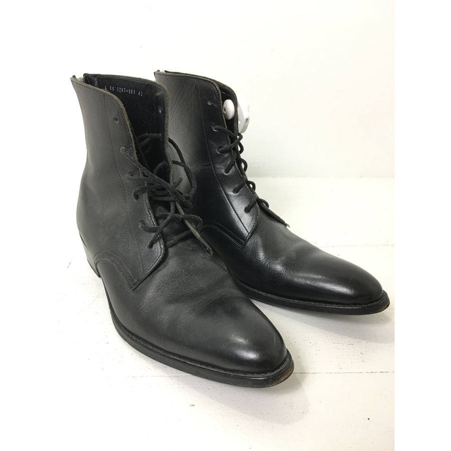 LAD MUSICIAN/Lace Up Boots/42/BLK/Leather