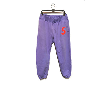 Supreme/ORAGE S/Straight Pants/LARGE/PPL/Cotton/Plain
