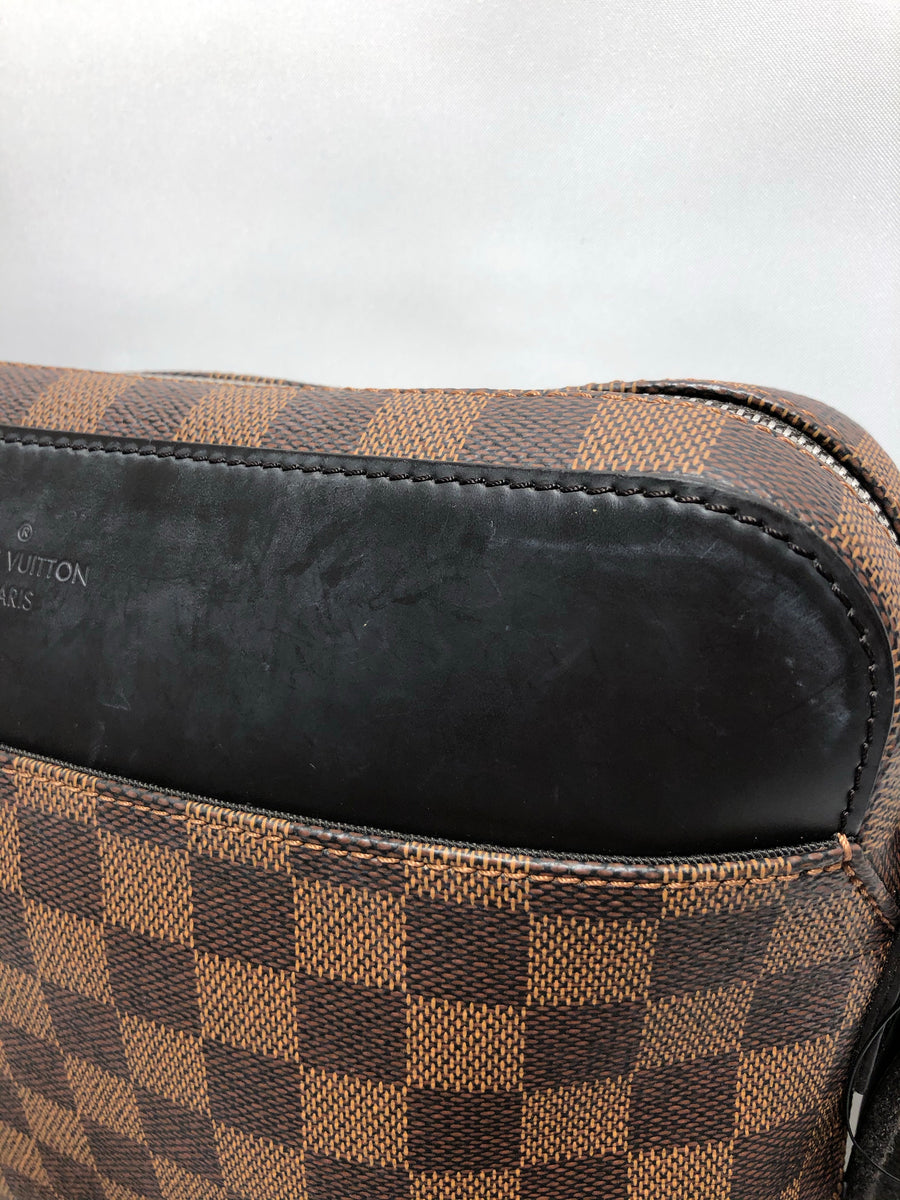 LOUIS VUITTON/Jake_messenger_PM_Damier/PVC/BRW/N41568