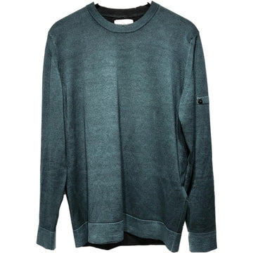 STONE ISLAND//Sweater/XL/GRN/Wool/Plain