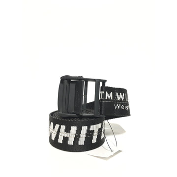 OFF-WHITE/WHITE/Belt/BLK/Polyester/Plain