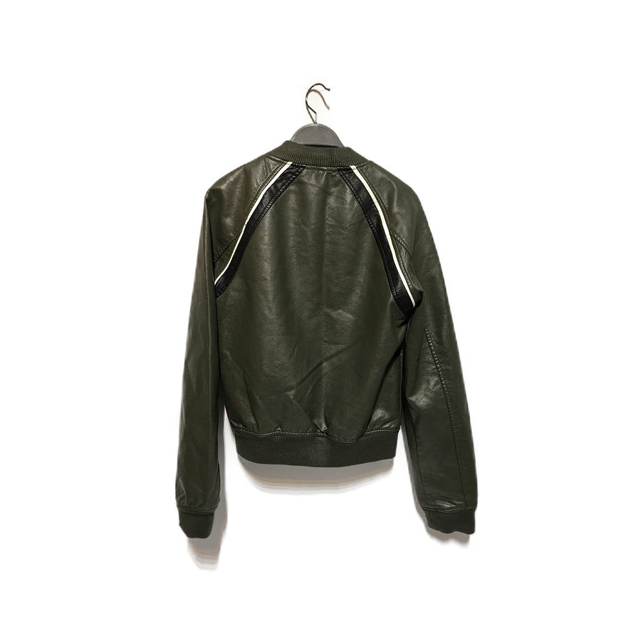 JOES//Leather Jkt/S/GRN/Leather/Plain