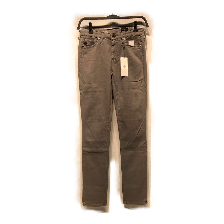 AG(Adriano Goldschmied)//Skinny Pants/W24/GRY/Cotton/Plain