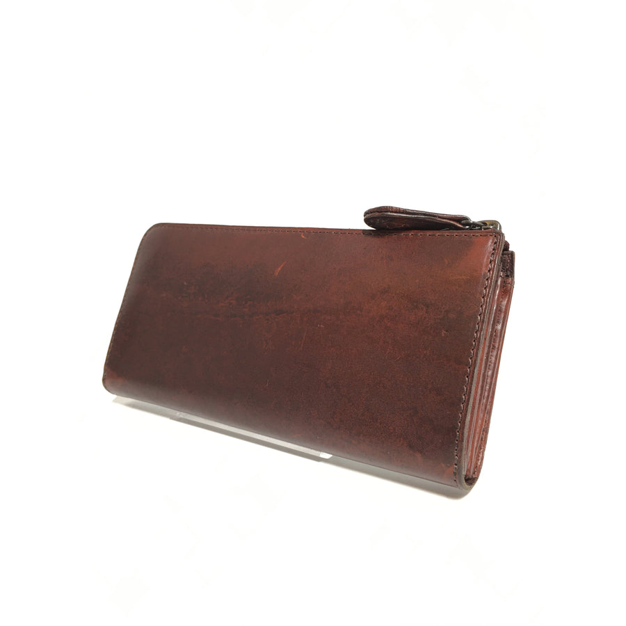 NOMADOI/Long Wallet/Leather/BRD