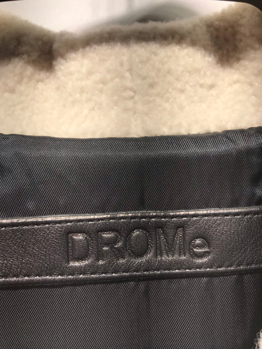 //DROME/Leather Jkt///MLT/Leather/Border