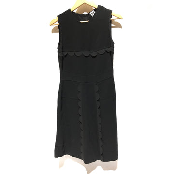 MISSONI/38/SL Dress/BLK/Polyester/Border